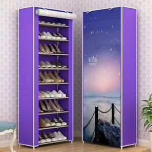 Home Multi-Layer Simple Shoes Shelf Storage Rack Organizer Can Freely Cabinets
