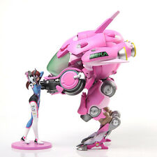 2017 Blizzard Overwatch OW D.Va Hana 23cm Action Figure Set Toys New With Box