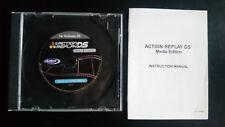 1x Action Replay DS Media Edition PC-Softwaredisc & Benutzerhandbuch