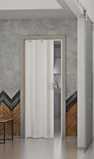 Falttür Monica weiß ohne Fenster 83x204 cm aus doppelwandigem Kunststoff