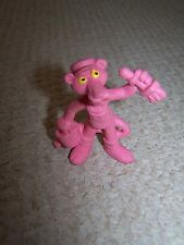 Pink Panther with Paintbrush and Paint.
