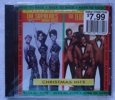 Christmas Hits Back to Back by The Supremes/The Temptations CD Free Shipping