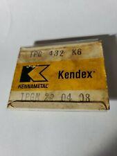 Kennametal Kendex Tpg 432 K6 5 Pieces