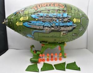 Turtle Blimp 100% Complete 1989 TMNT Teenage Mutant Ninja Turtles Playmates