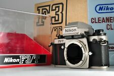 Nikon F3/T HP Titan 35mm SLR Film Camera Body EX+++ W/Box From JAPAN