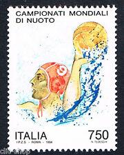 ITALIA UN FRANCOBOLLO CAMPIONATI MONDIALI DI NUOTO PALLANUOTISTA 1994 nuovo**
