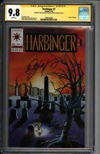 * HARBINGER #7 (1992) CGC 9.8 Signed Shooter Layton Pre-Unity (1600104006) *