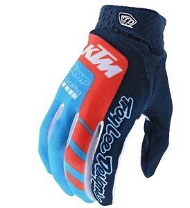 Troy Lee Designs 2020 Men's Air MTB Gloves TLD/KTM Navy/Ocean All Sizes