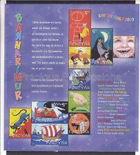 Faroe Islands Føroya MNH SHEET 2003 CHILDRENS SONGS SG MS455
