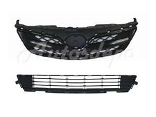 FOR 2011-2013 COROLLA GRILLE FRONT BUMPER LOWER GRILLE CENTER 2PCS