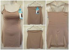 LOT OF 2 SHAPERCISE XL 12-14 Brown Cool Smoothing Light Control Full & Half Slip