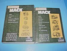 Mack Highway Vehicle Service Repair Manual Ts 442 Engine Transmission Clutch