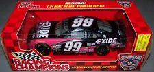 1998 Racing Champions 1:24 JEFF BURTON #99 Exide Ford Taurus