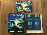 Flashback Commodore Amiga Big Box Game Delphine Software