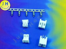 Kit 2x hembra + conector 2 polos + crimpkontakte Connector 2mm PCB abgewink #a1585