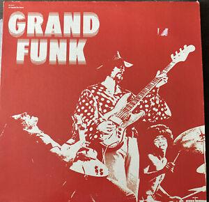 GRAND FUNK RAILROAD GRAND FUNK VINYL LP CAPITOL RECORDS vG+ Re-Issue