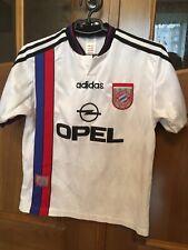BAYERN MUNICH 1995-1996 FOOTBALL SHIRT JERSEY AWAY ADIDAS ORIGINAL SIZE YOUNG L