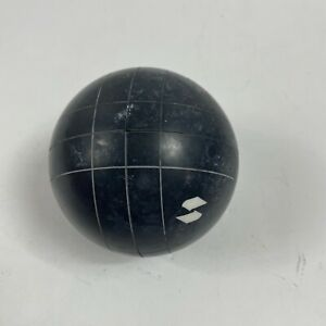 """Vintage Sportcraft Bocce Ball Replacement Black Ball with Square Bars 4"""""""