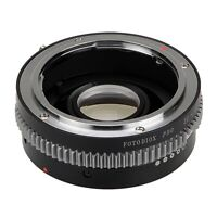 Fotodiox Pro Lens Adapter Mamiya 35mm (ZE) SLR Linse for Canon EOS Camera