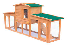 vidaXL 170163 Rabbit Hutch Cage with Roofs