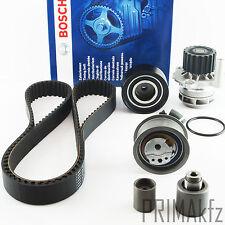 Bosch Timing Belt + Roller Set + Wapu Audi A3 A4 Seat Exeo VW Passat 2.0 Tdi
