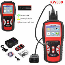 KW830 OBD2 OBDII EOBD CAN Car Fault Code Reader Scanner Diagnostic Scan Tool US