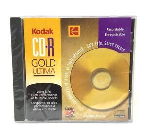 KODAK CD-R GOLD ULTIMA 1X-8X  650 MB