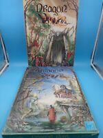 jeu de plateau wargame JDR euro games FR dragon noir 1 & 2 l'exil l'epreuve