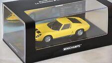 MINICHAMPS 436103650 - LAMBORGHINI Miura P 400 SV 1971 Jaune 1/43