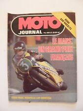 Moto Journal Septembre 1979 N°424 Le Mans Trial 349 Montesa