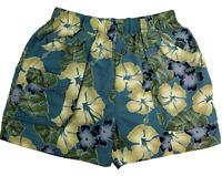 Tommy Bahama Floral Mesh Lined Cargo Swim Shorts Trunks Pockets Mens Size XL EUC