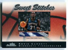 2003-04 Fleer Showcase KEVIN GARNETT Sweet Stitches 4 Color Patch Rare SP #/50