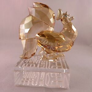 Swarovski Figurine - 1st Generation Chinese Zodiac Rooster Retired in 2017