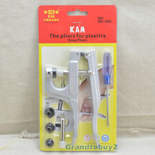 KAM Button Fastener Snap Pliers F Plastic Resin Snap Pop Fasteners cloth diaper