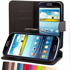 Samsung Galaxy S3 i9300 NEO i9301 Wallet case cover schutzhülle custodia