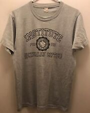 "Vintage 1985 ""Institute For The Sexually Gifted"" Tshirt-Screen Stars-Gray-Large"