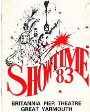 GREAT YARMOUTH BRITANNIA 1983 'SHOWTIME' THE KRANKIES PROGRAMME.