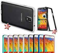 CUSTODIA COVER BUMPER SLIM IN ALLUMINIO per SAMSUNG GALAXY NOTE 3 + PELLICOLA