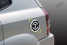 Für Hyundai Tucson 2004 - 2010 Chrom Kraftstoff Tür Abdeckung Verkleidung
