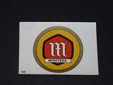 #128 MONTESA ESPAGNE CATALUÑA MOTO 2000 PANINI EDITIONS DE LA TOUR 1973