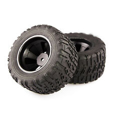 4PCS 12MM Hex Tires Wheel Tyres L6061 for 1/14 Scale RC Monster Truck EMB-MT RC