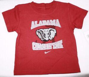 NEW Infant Toddler NIKE Univ Alabama Crimson Tide Elephant NCAA Tee T-Shirt
