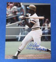 AL OLIVER SIGNED SIGNED 8x10 PHOTO ~ PIRATES ~ Insc. 1982 NL BATTING CHAMP