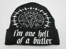 Black Butler Black Ski Snow Skate Cap Winter Beanie Hat CLEARANCE SALE