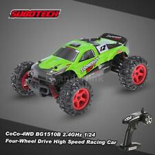 SUBOTECH CoCo-4WD BG1510B 2.4G 1/24 Four-Wheel Drive Car RC Car Green New I5X3