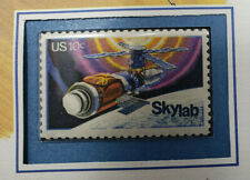 1974 U.S. stamp Mnh *First American Space Station* w/1984 Color illust Cover