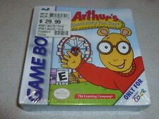 NEW SEALED NINTENDO GAMEBOY COLOR GAME ARTHURS ABSOLUTELY FUN DAY ADVANCE SP NIB