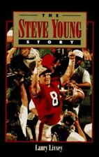 The Steve Young Story by Livsey, Laury Hardback Book The Cheap Fast Free Post
