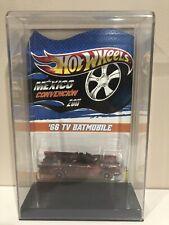 2011 Rare Hot Wheels Mexico Convention 1966 Tv Series Batmobile 1:64 Mosc 38/50