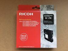 Ricoh Tinte GC21K 405532 schwarz black Aficio GX2500 3000 3050 5050 7000